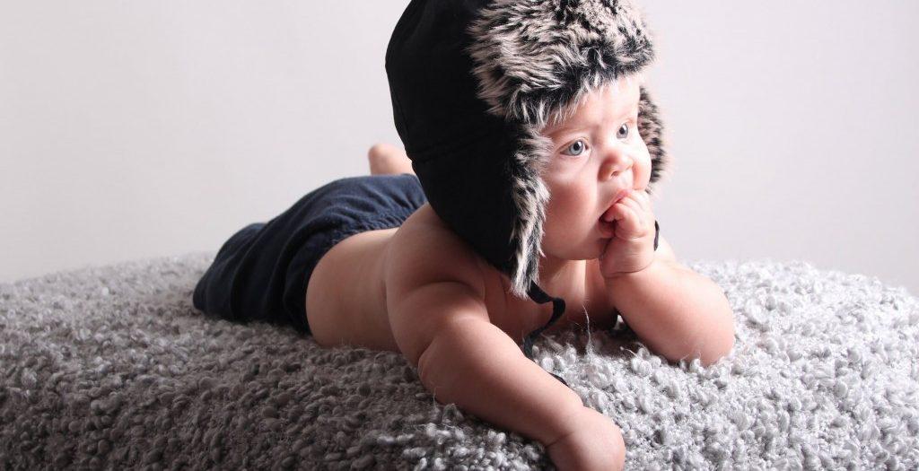 Alvins 4-månadersfotografering