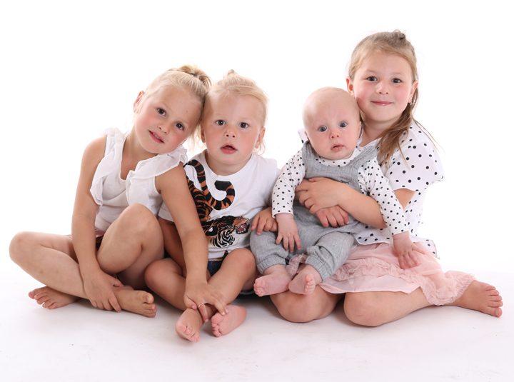 Strid ström av fina familjer idag